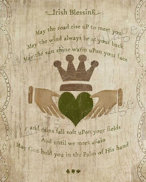 A Wedding Blessing Song by Blessing Printable 8x10 St