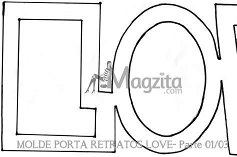 moldes d porta retrato echo d papel diy porta retratos love especialdiadosnamorados porta