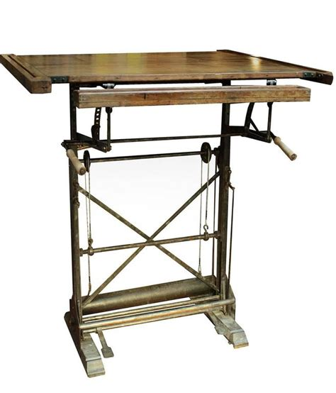 Antique French Drafting Table At 1stdibs Antique Drafting Tables For Sale