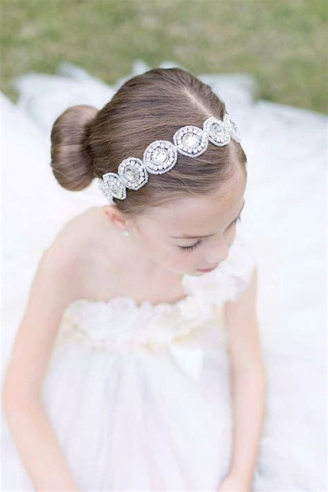 Wedding Hair With Bling by Flower Headband Bridal Headband Rhinestone Headband