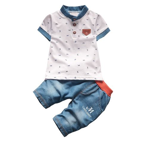 2pcs Baby Boy Clothes baby boys fashion style summer clothing sets 2pcs