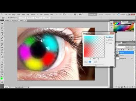 photoshop cs5 red eye tool tutorial photoshop cs5 rainbow eye effect tutorial by lintang