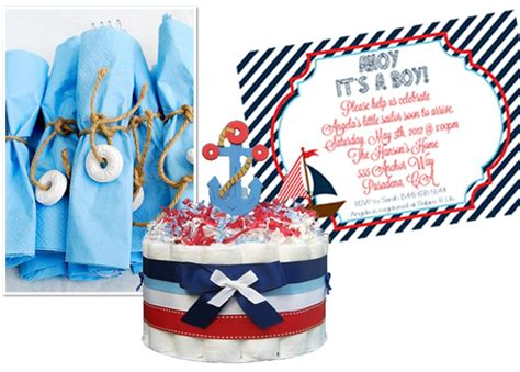 ahoy its a boy decorations preppy nautical baby shower inspiration board