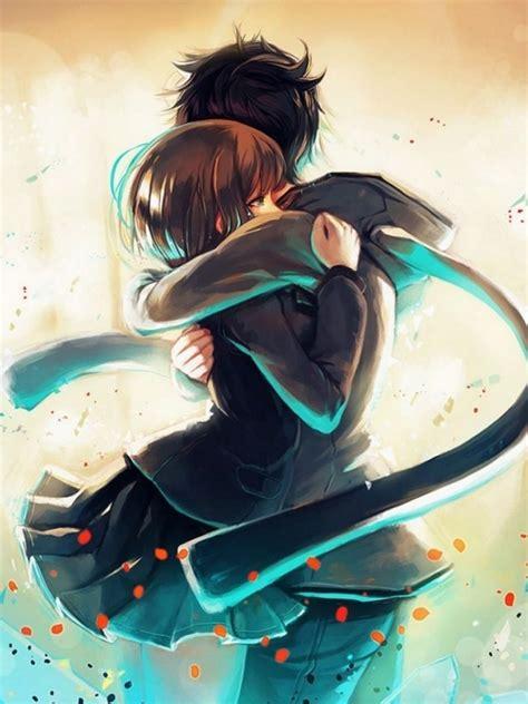 Anime Hug by Hug Anime Hd Wallpaper M9themes
