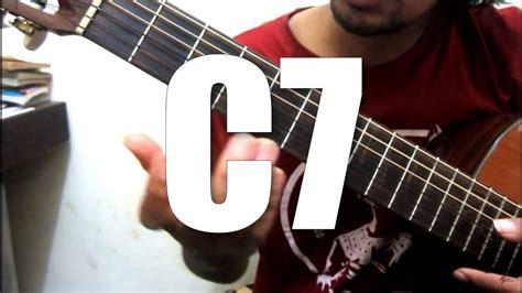belajar kunci gitar c7 chord c7 belajar kunci gitar youtube