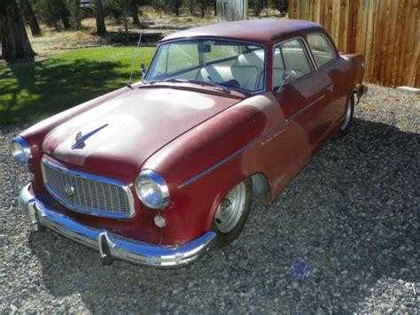 Used American Spec Cars For Sale In Germany 1960 American Motors Rambler 2 Door Sedan 60 Rod