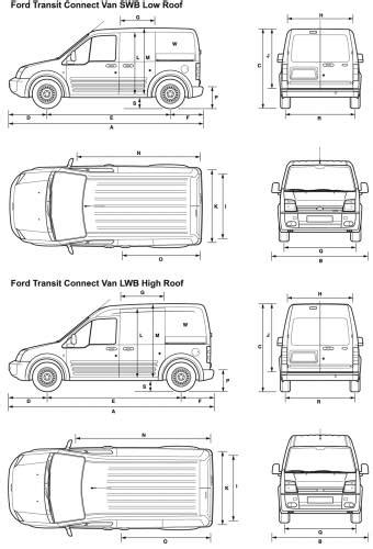 Ford Transit Interior Dimensions by Ford Transit Connect Interior Dimensions Search