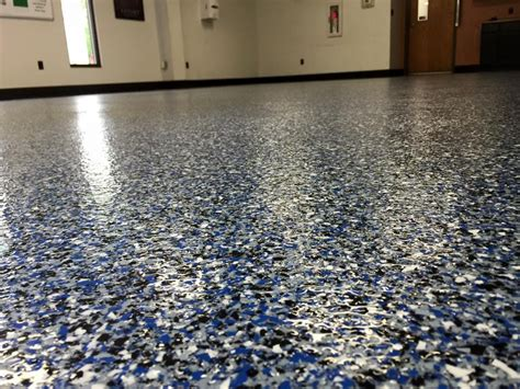 decorative flakes epoxy floors  alternatives cheaper budget  romancetroupe design