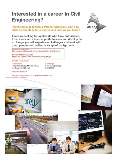 interested in a career in civil engineering plhs today