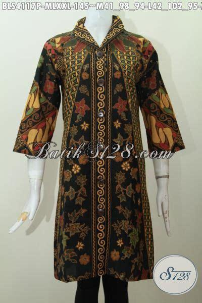 Batik Sinaran blus batik elegan motif sinaran baju batik printing
