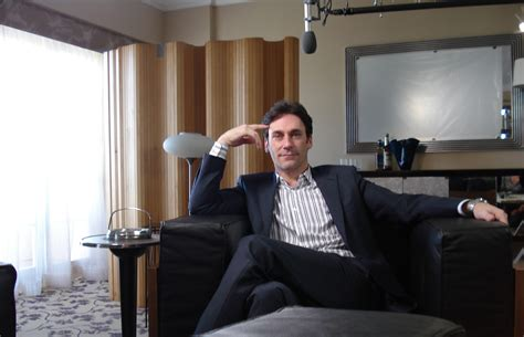 production design for jon hamm interview about mad men