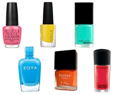 the best summer nail polish shades for your skin tone 10 of the best bright nail polish shades and colours for