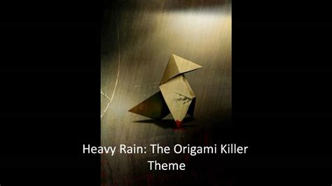 Who Is The Origami Killer - heavy the origami killer theme