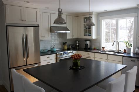 Kitchen Island Large by Carriagetown Kitchens Before And After