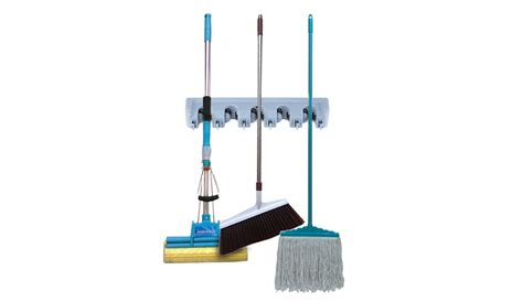 Grip Biru Untuk Mop jual wall mounted mop holder brush broom organizer hanger aosen