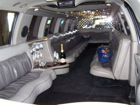 inside a limo american limousines limousine services
