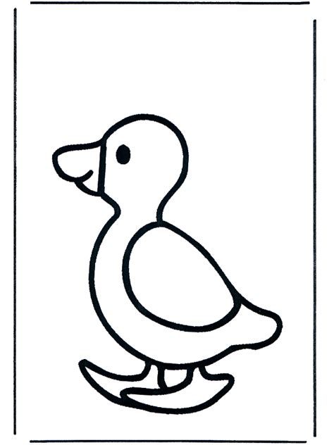 free coloring pages of more a baby duck