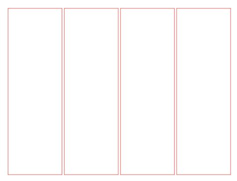 Bookmark Templates For Word by Printable Blank Bookmark Template Pdf Word Calendar