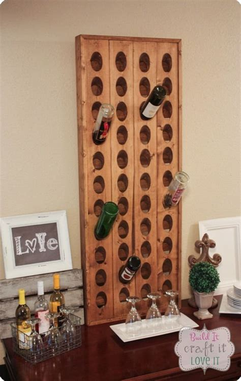 Pottery Barn Wine Rack Wall by Diy Ideas Build Your Own Pottery Barn Inspired Wine Rack