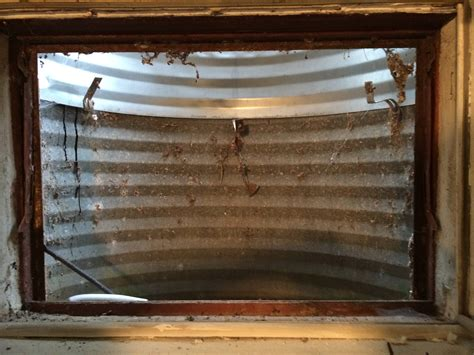 removing steel basement windows home improvement stack