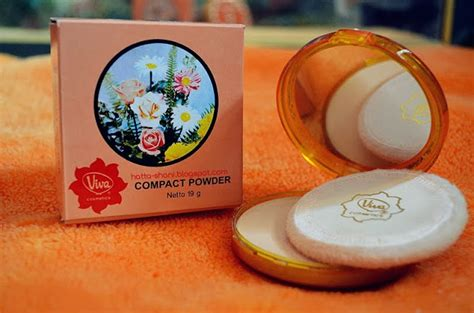 Bedak Viva review viva compact powder