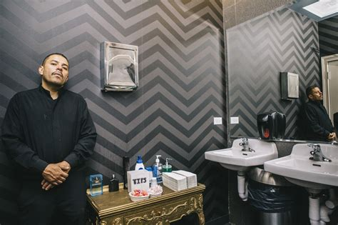 bathroom attendant supplies it s a dirty job and they do it life as a nightclub