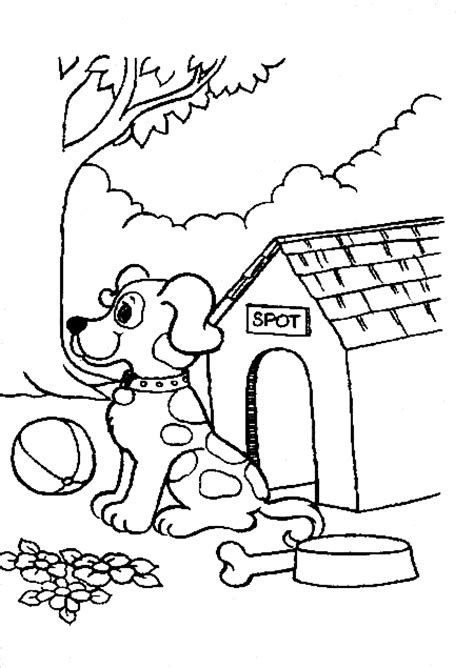 dog coloring pages learn to coloring