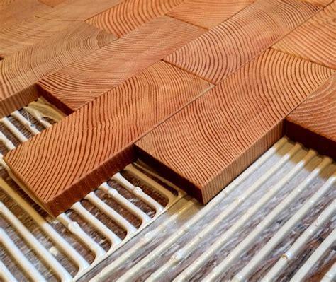 End Grain Block Flooring At Cartolina Poppytalk