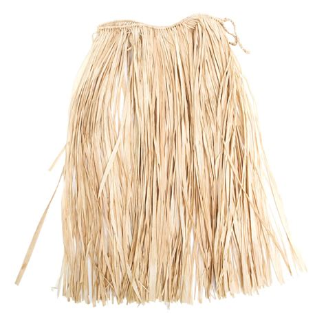 kids natural raffia grass skirt