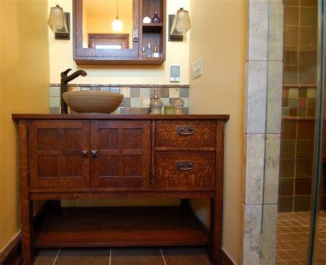 arts and crafts bathroom vanity arts crafts style bathroom renovation bathroom of