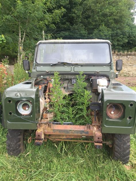 land rover rusty 422 best defender to restore images on pinterest land
