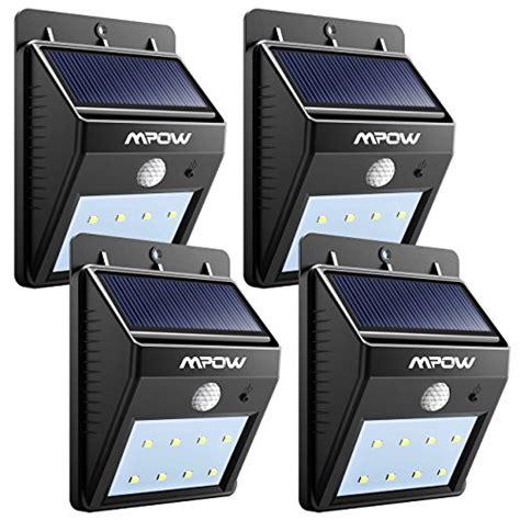 Original Mpow Premium Msl14 Outdoor Solar Motion Sensor Lights 60 Le cheap area lighting tools home improvement categories lighting ceiling fans