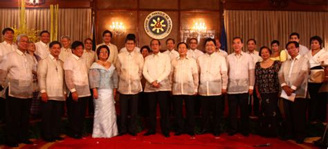 Who Are The Members Of The Cabinet by Executive Branch Of The Government Of The Philippines