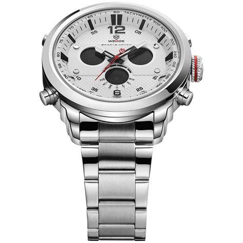 Jam Tangan Lorenzo Stainless Rantai Silver weide jam tangan analog stainless steel wh6303 gray silver jakartanotebook