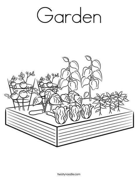 free coloring pages garden garden coloring page twisty noodle
