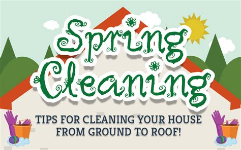 time for spring cleaning infographic spring cleaning tips and tricks the tidy maids