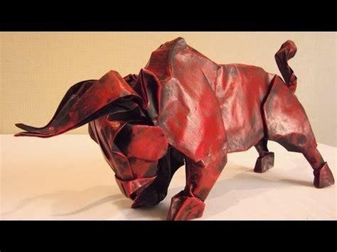 origami bull origami bull special gift from stephan weber