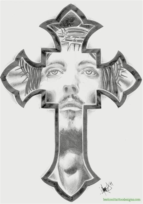 cross tattoo flash crosses archives best cool designs