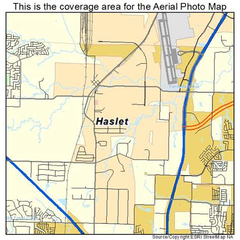 map of haslet texas aerial photography map of haslet tx texas