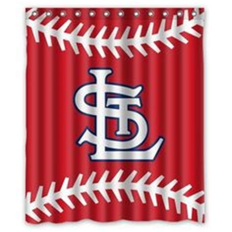 St Louis Cardinals Shower Curtain by Mlb St Louis Cardinals Three Embroidered Bath Towel