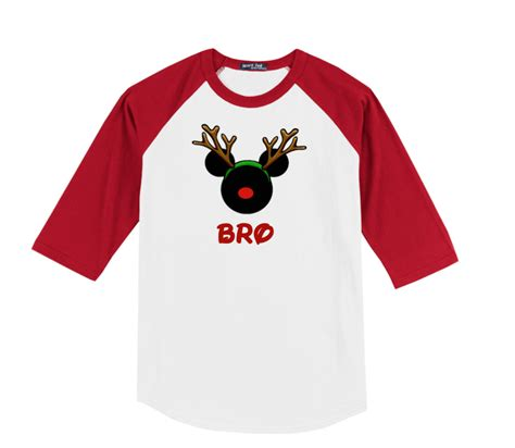 Family Raglan disney reindeer family vacation raglan t shirts