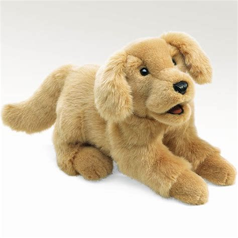 puppy puppet golden retriever puppy puppet by folkmanis