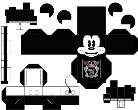 Mickey Mouse Papercraft - mickey mouse paper free printable papercraft templates
