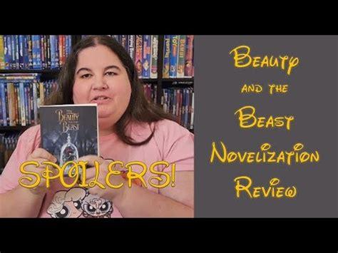 beauty   beast novelization review spoilers youtube