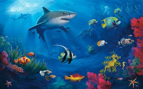 underwater themes for windows 10 tropical fish windows 10 theme themepack me