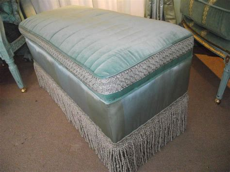 green ottoman coffee table ottoman cocktail table size in cotton silk blue and green