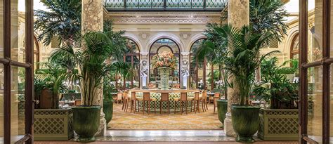 Palm Room by Iconic New York Restaurant And Bar The Palm Court At The