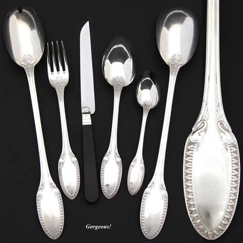 7 Gorgeous Flatware Patterns From Anthropologie by Gorgeous Vintage Sterling Silver 39pc Luncheon Or