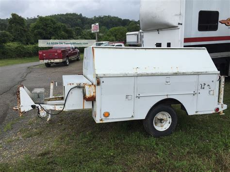 trailer bed 1986 utility bed trailer with title