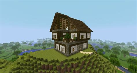 minecraft wooden house design minecraft wooden house google search minecraft pinterest wooden houses
